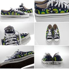 @machedavvero x Pimp My Lil Sneakers lil monsters for lil ones