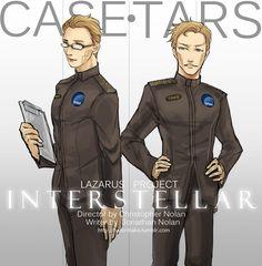 Interstellar: CASE - TARS by gundam-kun