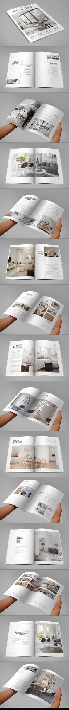 Minimal Interior Design Magazine on Behance