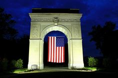 War Memorial Arch, Ritter Park Huntington, WV