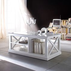 Halifax is one of the most comprehensive ranges of Hampton's inspired white furniture available today. Living, dining and bedroom furniture that is tastefully mixed with rattan to create an essence of coastal lifestyles, yet Halifax retains straight line features so as to blend in with the modern Australian home. Our Halifax Coffee Table features a …