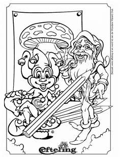 Coloring for adults - Kleuren voor volwassenen Colouring Pages, Coloring Pages For Kids, Adult Coloring, Young Old, Fairy Art, Disney Cartoons, Big Kids, Painting & Drawing, Embroidery