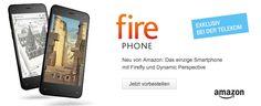 Amazon Fire Phone exklusiv bei Telekom - https://apfeleimer.de/2014/09/amazon-fire-phone-exklusiv-bei-telekom - Amazon Fire Phone jetzt in Deutschland und NUR bei Telekom! Nachdem das Amazon Fire TV dank der Rabattaktion für Prime Kunden (die nur noch heute gilt!!!) wohl ganz gut funktionierte hat sich Telekom das neue Amazon Fire Phone exklusiv gesichert. Ab sofort ist das Fire Phone bei Telekom ...