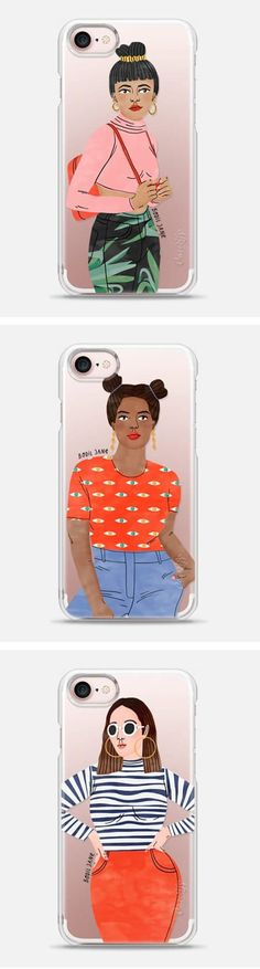 Bodil Jane phone cases / affiliate Iphone Wallet Case, Iphone Case Covers, Iphone Cases Disney, Zine, Diy Design, Phone Accessories, Random Things, Infographic, Illustration Art