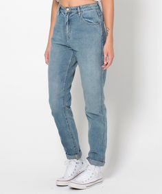 DUSTERS DECADES BLUE | Jeans | Clothing | Shop Womens | General Pants Online