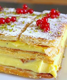 Mille feuilles - recipe (french)