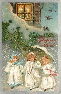 Ellen Jessie Andrews - English - vintage postcard.