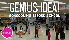 Genius Idea! GoNoodling Before School