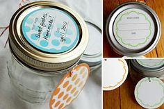 These free printable canning labels and tags can help you organize your canned goods so you can enjoy them all year long! via mydeliciousambiguity.com