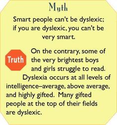 Dyslexia Myths and Truth #4  Are You An Out-of-the-Box Thinker? A Slow Reader?  You May Be Dyslexic If You...