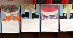 First Grade Wow: I traveled through some fairy tales and found--- Fairy Tale writing with {Free} craft templates! So cute