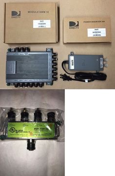 Satellite Signal Multiswitches: 1 New Directv Swm16 Multiswitch +1- 29 Volt Power Supply Green Swim16 -> BUY IT NOW ONLY: $57 on eBay!