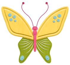 """Photo from album """"Free to fly"""" on Yandex. Butterfly Clip Art, Mandala Art, Clipart, Overlays, Diy And Crafts, Wings, Scrapbooking, Album, Blog"""