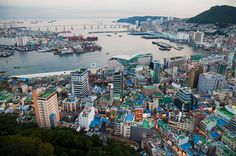 Busan, South Korea: a close friend from Japan lives here. Going in February!