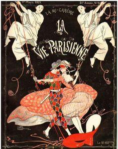 Illustration by George Leonnec For La Vie Parisienne March 1913