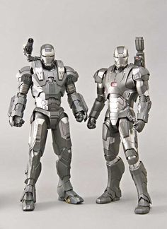 [Iron man 3] 1/6 War machine Mk-II. (Hot Toys) Preview Big Size Images
