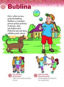 Česká škola: Cvičení s říkankou pro malé děti