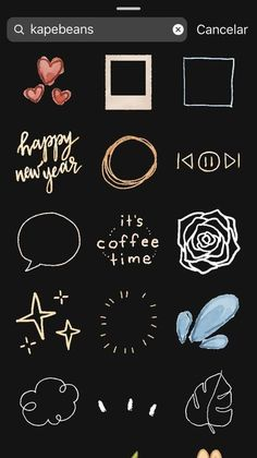 stickers for your creative insta storys from Instagram Blog, Ideas De Instagram Story, Instagram Emoji, Iphone Instagram, Creative Instagram Stories, Instagram And Snapchat, Instagram Quotes, Snapchat Search, Instagram Editing Apps
