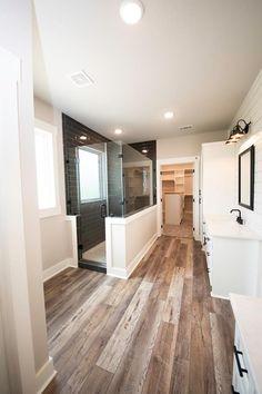 Dream House Plans, Dream Houses, House Rooms, Tile Floor, Bathtub, Bathroom, Home, Design, Decor