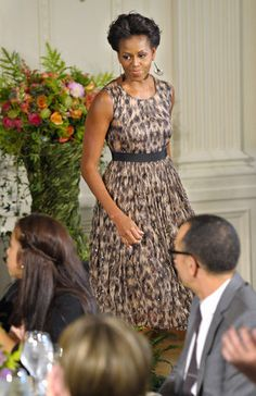 First Lady Style: Festive Frocks: Wild Style: Page 8 : Essence.com