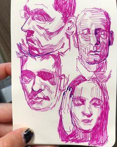 i love small sketchbooks and felt tip pens A Level Sketchbook, Small Sketchbook, Sketchbook Drawings, Doodle Drawings, Doodle Art, Art Sketches, Sketchbook Ideas, Cartoon Girl Drawing, Cartoon Drawings
