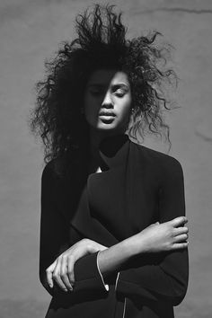 Imaan Hammam by Annemarieke van Drimmelen for WSJ Magazine, May 2015