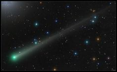 Comet ISON imaged by Damian Peach on November Northern Lights, Nature, Image, November, Peach, Kites, November Born, Aurora, Prunus
