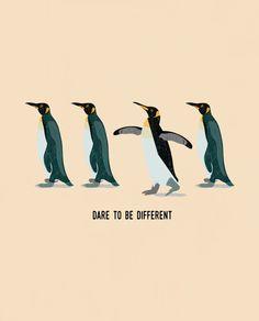 Dare To Be Different Flowy Raglan