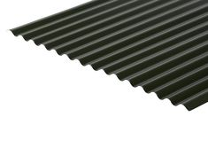 13/3 Corrugated Sheet 0.5 Thick Polyester Paint Coated Roofing Corrugated Sheets, Corrugated Roofing, Cladding Sheets, Ridge Cap, Agricultural Buildings, Iron Sheet, Coat Paint, Traditional Looks, Flat Color