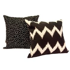 Cushion Black White Set Of 2 now featured on Fab.