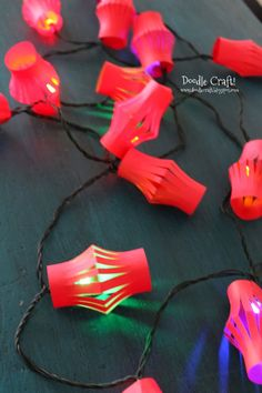 Chinese New Year / Tutorial / Lantern lights
