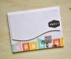 Something Sweet Card by Maile Belles for Papertrey Ink (March 2015)