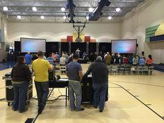 https://flic.kr/p/v91iKd | Church in an Elementary School Gym | FBC, MO 0123