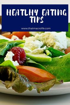 Healthy Eating Tips and Tricks to help you on your health and fitness journey. Flexible Dieting, iifym and macro counting. Healthy eating motivation. www.thatmacrolife.com