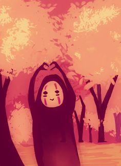 Spread the love, studio ghibli Studio Ghibli Films, Art Studio Ghibli, Hayao Miyazaki, Got Anime, Anime Art, Japon Illustration, Howls Moving Castle, Spirited Away, My Neighbor Totoro