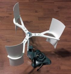 Vertical Axis Wind Turbine by hooptey. ALTERNATIVE ENERGY REPORT IS WAITING FOR YOU...