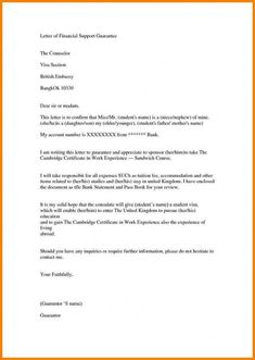 printable sample support letter for refugee missionary support letter template pdf