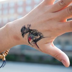 I'd love to get something small on my hand like this - probably not a peacock per say, but something