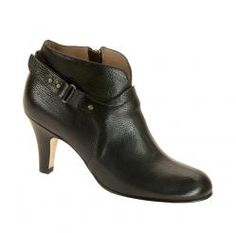 The Vanessa in Black calf. On sale for $495. #AnyiLu #boots #fashion #shoes