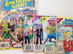 Archie, Betty and Veronica Comic Books - lot of 5 by CellarDeals on Etsy