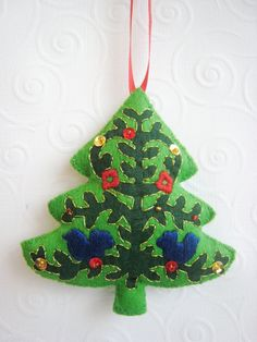 Wool Felt Christmas Ornament
