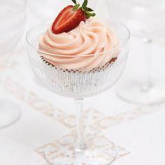 Strawberries & Cream Cupcakes | sheerluxe.com