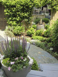 Courtyard Garden, Richmond VA