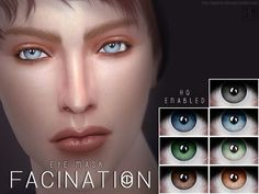 Sims 4 CC's - The Best: Eyes by Screaming Mustard