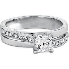 $1,999  -  * GIA CERTIFIED * 1.30 CARATS PRINCESS SOLITAIRE DIAMOND RING ON 14K WHITE GOLD F 26 D http://www.amazon.com/dp/B00LV3JS6C/ref=cm_sw_r_pi_dp_ngrDub008MMM2