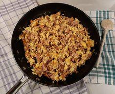 Fried Rice, Fries, Ethnic Recipes, Food, Essen, Nasi Goreng, Yemek, Stir Fry Rice, Baked Rice