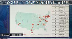 Virginia Is For Lovers, Seasonal Allergies, Oklahoma City, Virginia Beach, San Antonio, Healthy, Places, Lugares, Health