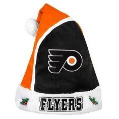 Philadelphia Flyers 2015 NHL Hockey Team Logo Holiday Plush Basic Santa Hat