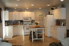{Love Stitched}: How to refinish your kitchen cabinets and my style guide {{tutorial}}