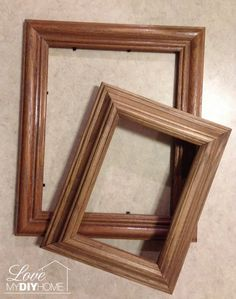 DIY Chunky Photo Frame - Use Those Old Dusty Frames! - diy chunky photo frame use those old dusty frames, crafts, repurposing upcycling - Old Picture Frames, Old Frames, Painted Picture Frames, Picture Frame Wreath, Picture Frame Crafts, Inexpensive Birthday Gifts, School Photo Frames, Light Up Canvas, Globe Decor